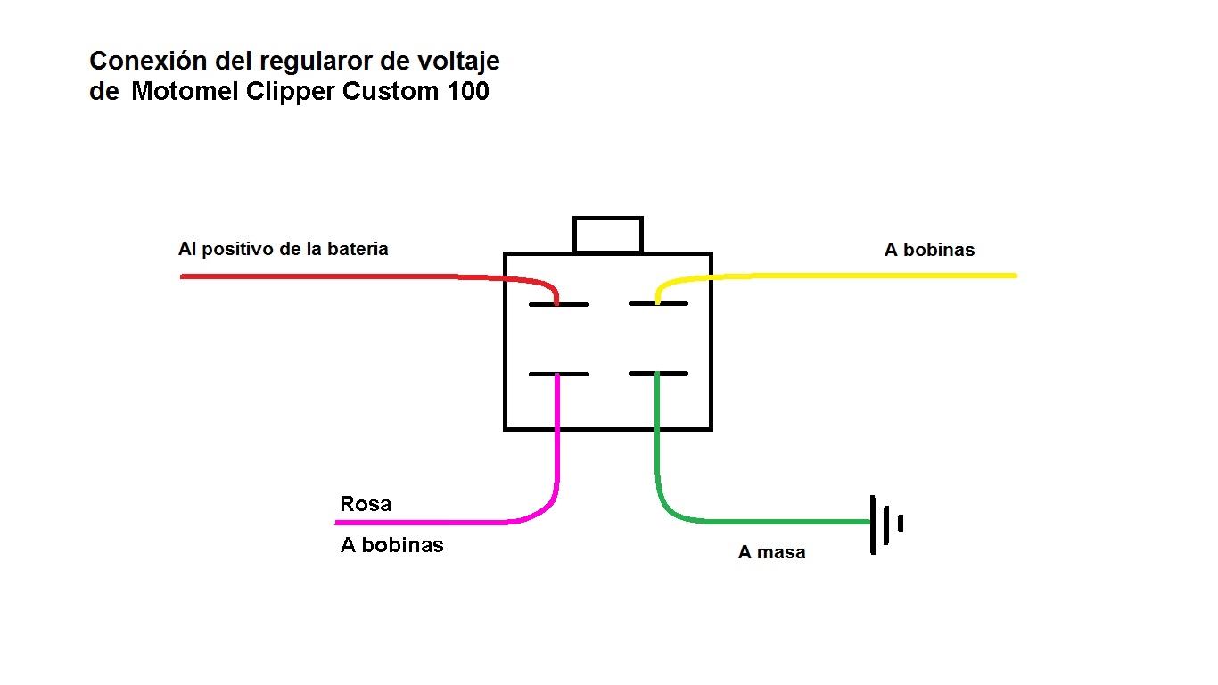 Diagrama-de-encendido-Motomel-Clipper-Custom-100-08 Yamaha Cdi Wiring Color on